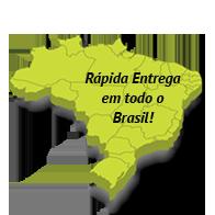 Entrega em todo o Brasil